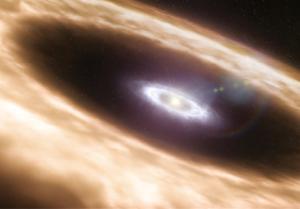 Disco de formación de planetas (impresión artística) | ESO